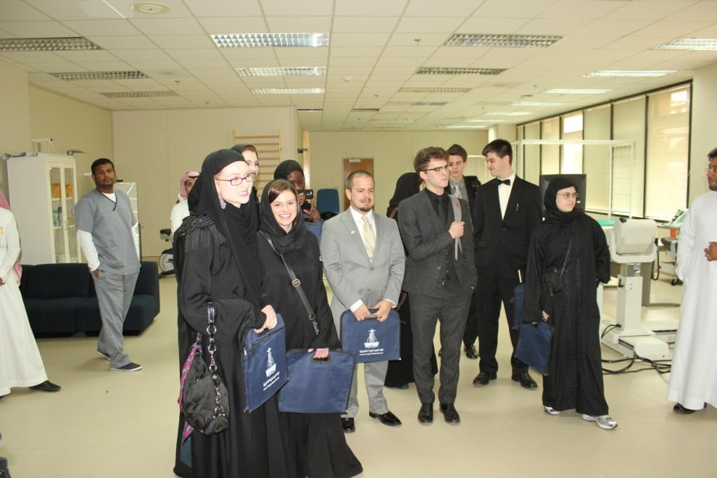 Visit of a delegation of students from American universities